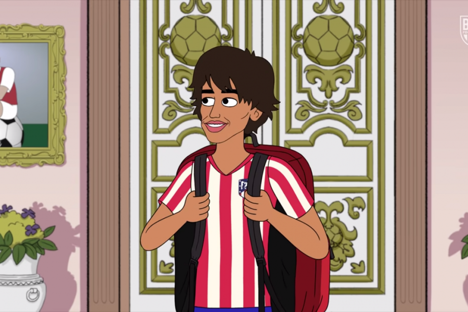 Joao Felix Enters House